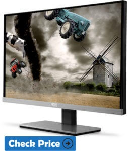 AOC i2367Fh monitor for gaming for ps4
