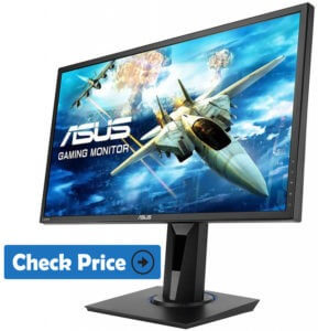 ASUS VG245H 24 best gaming monitor for ps4