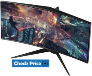 Alienware AW3418DW best curved monitor