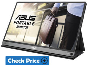 ASUS MB169b+ portable monitor for laptop