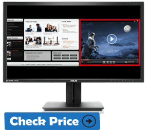 ASUS PB287Q Best Monitor for coders