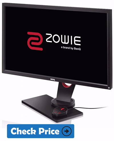 BenQ Zowie RL2755 gaming monitor under 500 usd