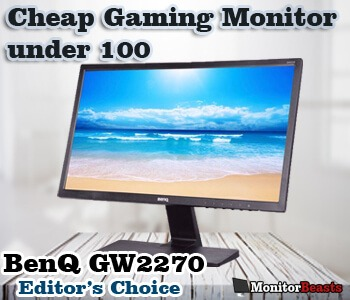 Cheap gaming monitor under $100
