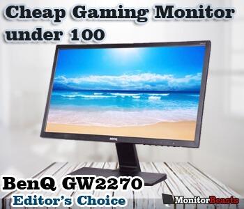 Cheap gaming monitor under $100