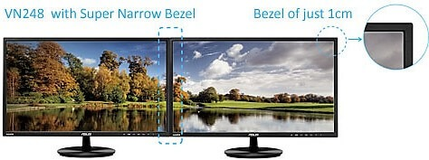 Monitor Bezels for programming