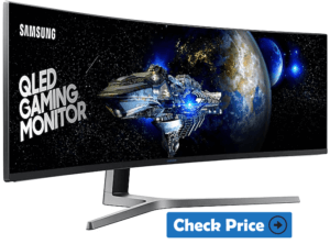 Samsung-CHG90 curved gaming monitor