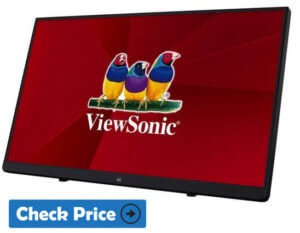 ViewSonic TD2230 best portable monitor for laptop