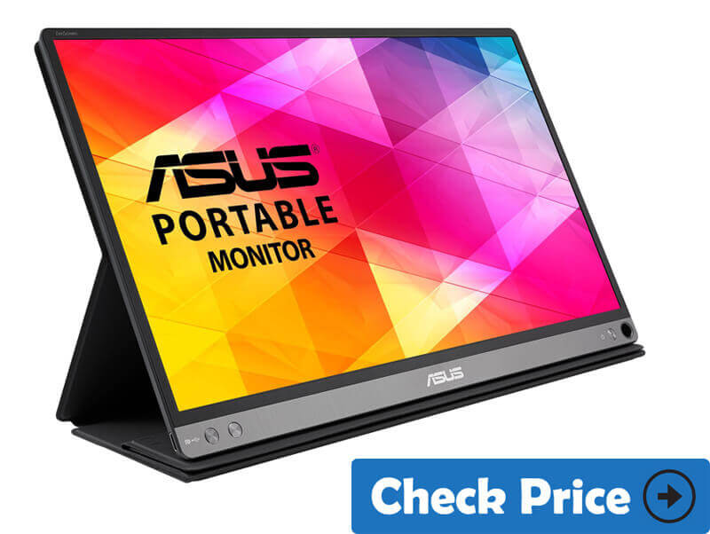 ASUS-ZenScreen-MB16AC best portable monitor for Mac pro