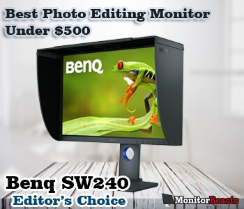 Best Photo Editing Monitor Under $500