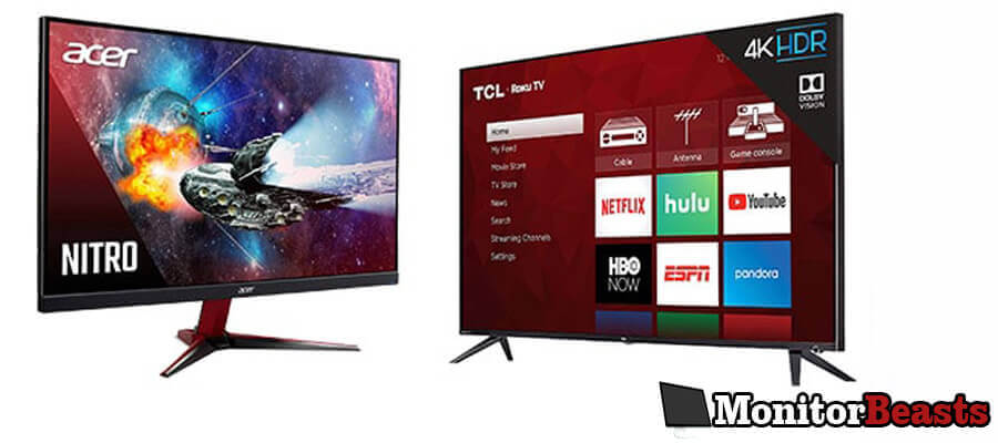 Gaming Monitor vs TV